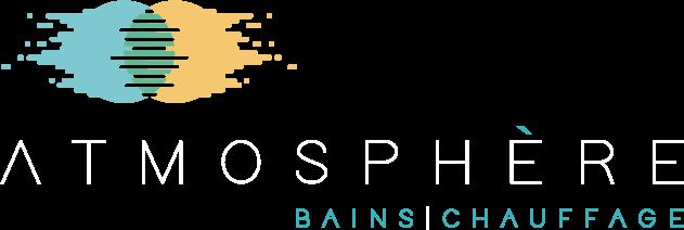 logo blanc Atmosphère Bains Chauffage, Plombier chauffagiste à Brest
