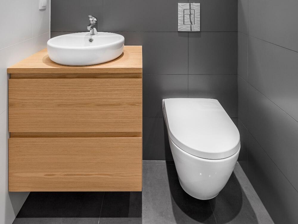 Les inspirations d'Atmosphère Bains Chauffage, plombier chauffagiste à Brest,installation de wc suspendus